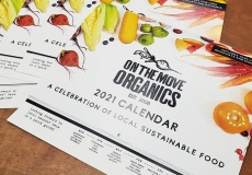 On The Move Organics, 2021 Calendar