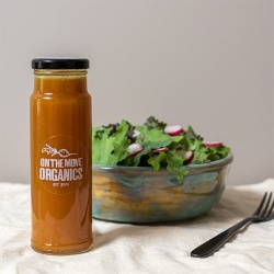 On The Move Organics, Sweet Curry Vinaigrette
