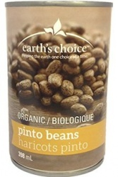 Earth's Choice Organic Pinto Beans - 398ml
