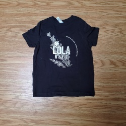 LOLA Bees, Toddler Black T-Shirts