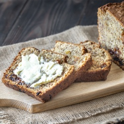 On The Move Organics, Apple Cinnamon Banana Bread