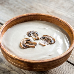 The Root Cellar, Mushroom Soup (Serves 2)