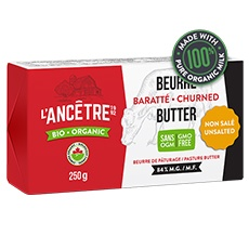 L'Ancêtre, Unsalted Butter