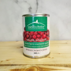 Earth's Choice, Whole Berry Cranberry Sauce - 348ml