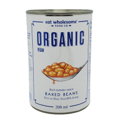 Eat Wholesome, Organic Baked Beans