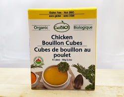 GoBio!, Chicken Bouillon Cubes - 66g