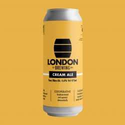 London Brewing, Cream Ale (Beer) - 4x473ml