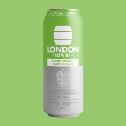 London Brewing, Front Porch Organic Session IPA - 6x473ml