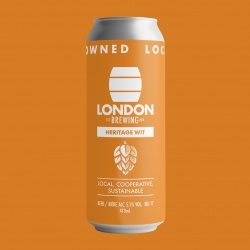 London Brewing, Heritage Wit (Beer) - 4 x 473ml