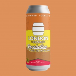 London Brewing, Resolution Iced Tea Kettle Sour (Beer) - 4 x 473ml