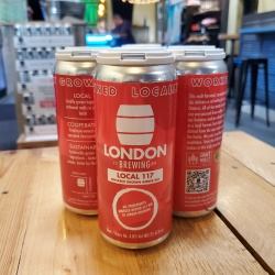 London Brewing, Local 117 Ontario-Grown Amber Ale, 4x473ml