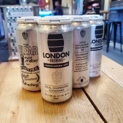 London Brewing, London Natural Lager, 6x473ml