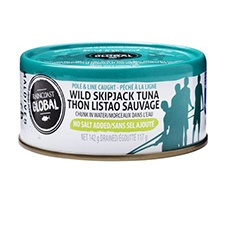 Raincoast Trading, Wildcaught Skipjack Tuna (No Salt)