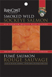 Raincoast Trading Wildcaught Smoked Salmon, Frozen - 114g