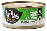 Raincoast Trading Wildcaught Pink Salmon, Canned - 160g