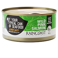 Raincoast Trading, Wildcaught Pink Salmon (Canned)