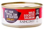 Raincoast Trading Wildcaught Sockeye Salmon, Canned - 160g