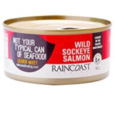 Raincoast Trading, Wildcaught Sockeye Salmon (Canned)