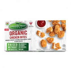 Yorkshire Valley Farms, Organic Breaded Chicken Bites