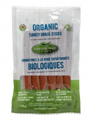 Yorkshire Valley Farms, Organic Turkey Snack Sticks