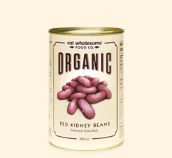 Eat Wholesome, Organic Red Kidney Beans