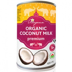 Arayuma Organic Coconut Milk - 400ml