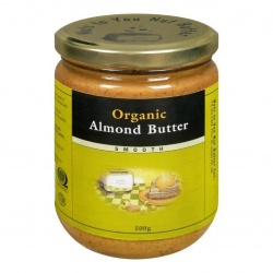 Nuts to You Nut Butter, Organic Almond Butter, Smooth - 365g