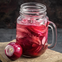 On The Move Organics, Pickled Red Onions