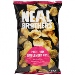 Neal Brothers, Pure Pink Low Sodium Kettle Chips