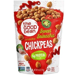 The Good Bean, Sweet Sriracha Crunchy Chickpeas