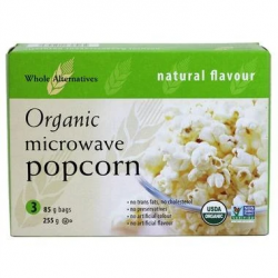 Whole Alternatives, Microwave Popcorn