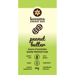 Kosuma, Peanut Butter Bar (Vegan, Wheat Free)