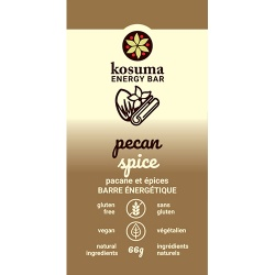 Kosuma, Pecan Spice Bar (Vegan, Wheat Free)