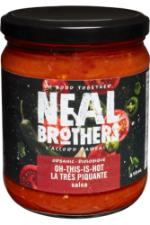 Neal Brothers, Oh This Is Hot Salsa - 410 ml
