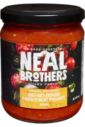Neal Brothers, Just Hot Enough Salsa - 410ml