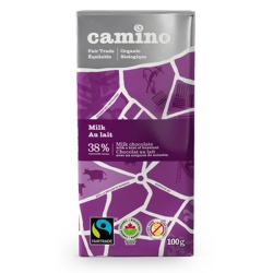 Camino, Milk Chocolate Bar
